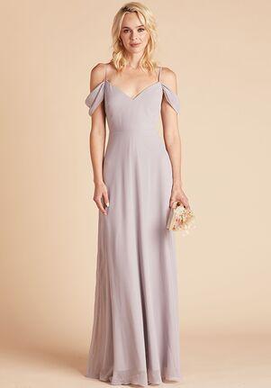 Birdy Grey Devin Convertible Dress in Lilac V-Neck Bridesmaid Dress