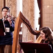 Madison, WI Celtic Harp | Rachel Avery (harp, piano) & Terri Pepper (violin)