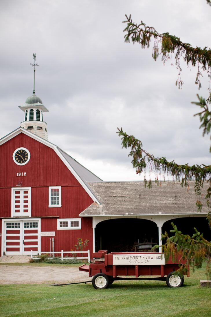 Classic Red Barn Venue