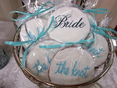 Wedding Party Cookies, Wire A Cookie!