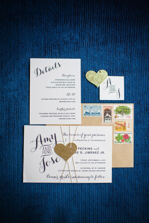 Whimsical Script Invitations