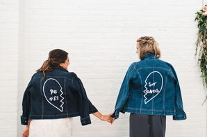 Jean Jackets for Bride and Maid of Honor
