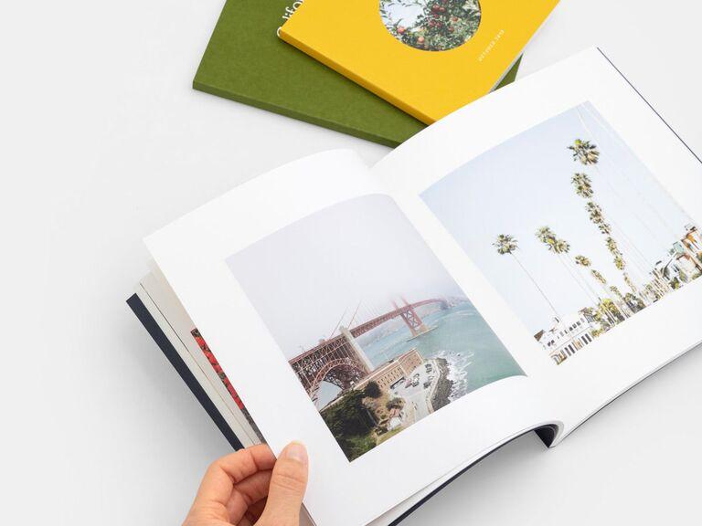 Photo book bridesmaid gift