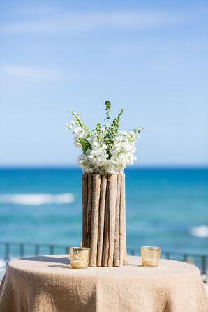 Branch Vase Cocktail Table Centerpiece