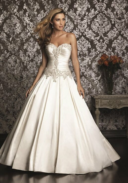 4b70d58ec9f3 Allure Bridals 9003 Wedding Dress | The Knot