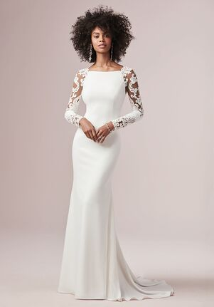 Rebecca Ingram BETHANY Sheath Wedding Dress
