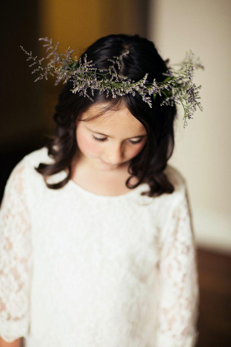 Flower crown ideas for flower girls