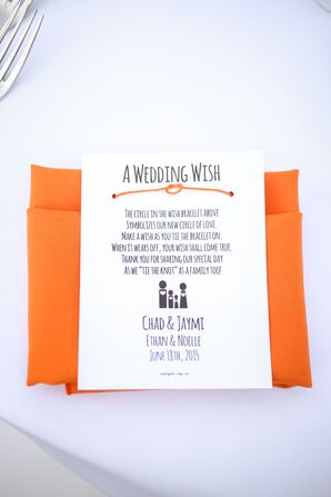 Wish Bracelet Wedding Favors