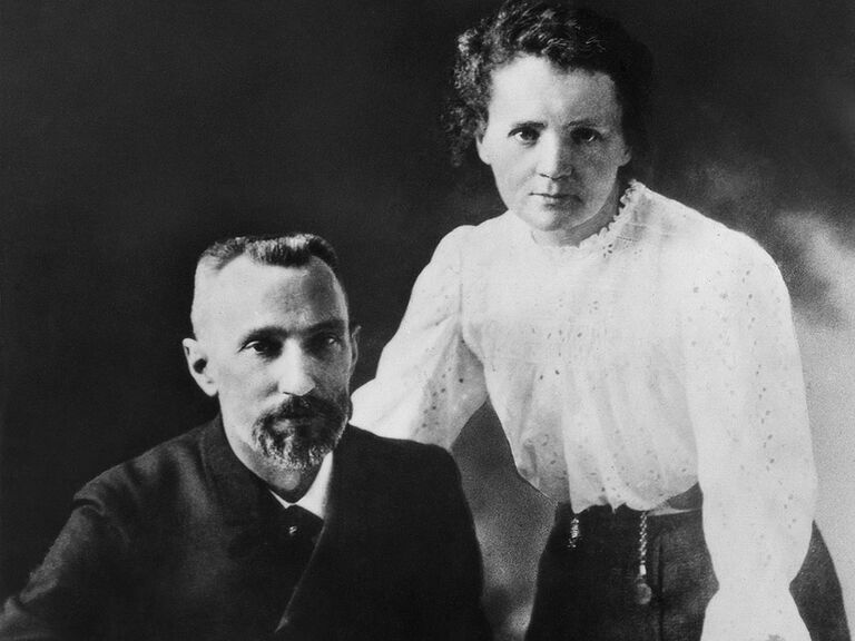 Pierre and Marie Curie famous couples in history