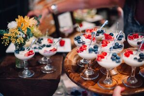 Fresh Fruit Dessert Parfaits