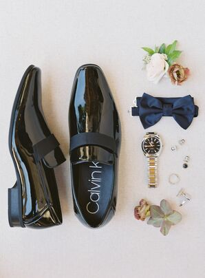Formal Groom Shoes for Wedding at Holman Ranch in Carmel Valley, California