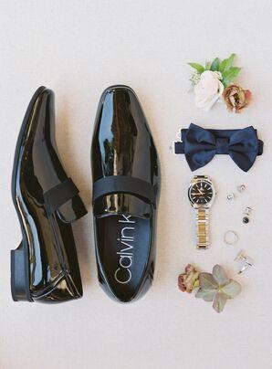 Formal Groom Shoes for Wedding at Holman Ranch in Carmel Valley, California