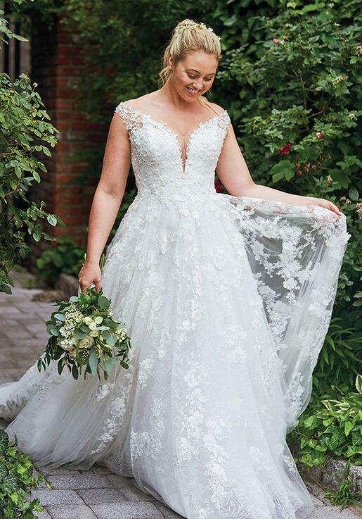Justin Alexander 88048 A-Line Wedding Dress