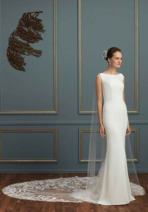 Amaré Couture C122 Kennedy Sheath Wedding Dress