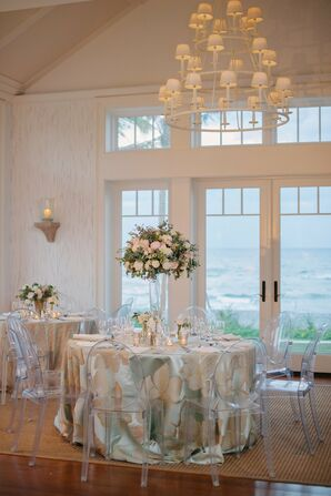 Beachfront Dining Area at the Jupiter Island Club in Hobe Sound, Florida