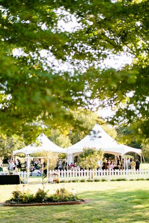 Tented Backyard Wedding in Springfield, Missouri