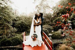 Wedding Photos at the Miami Beach Botanical Garden in Miami Beach, Florida