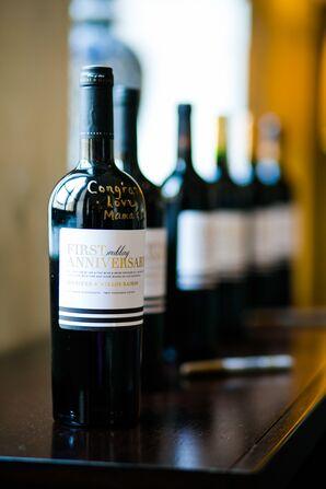 Anniversary Wine Bottles