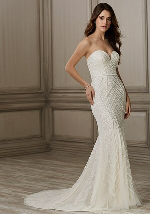 Adrianna Papell Platinum Aviana Mermaid Wedding Dress