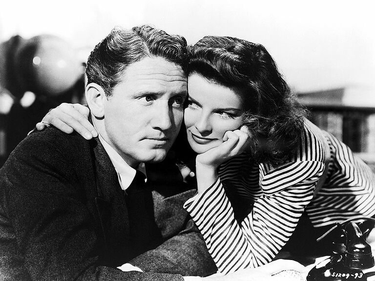 Katharine Hepburn and Spencer Tracy famous couple