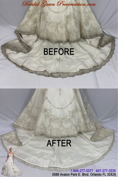 Bridal Gown Preservation