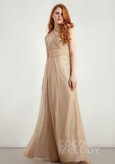 CocoMelody Bridesmaid Dresses CB0285 Halter Bridesmaid Dress