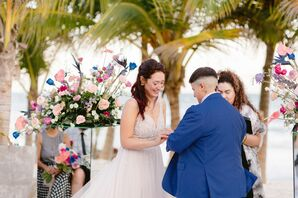 Same-Sex Wedding Ceremony in Tulum, Mexico