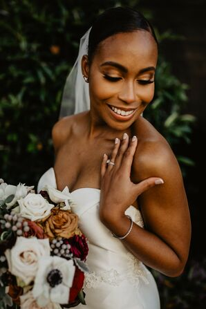 Bridal Portraits at the United States Naval Academy