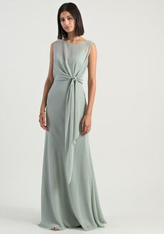 Jenny Yoo Collection (Maids) Paltrow Illusion Bridesmaid Dress