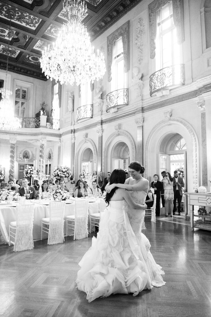 First Dance in the Ballroom of Anderson House in Washington, D.C.