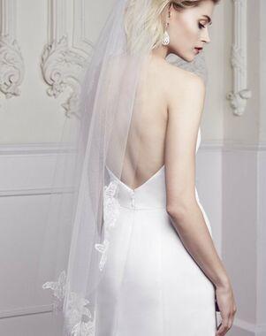 Mikaella by Paloma Blanca Veils Collection VM455F Ivory Veil