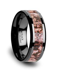 Mens Tungsten Wedding Bands C3815-TCDB Tungsten Wedding Ring