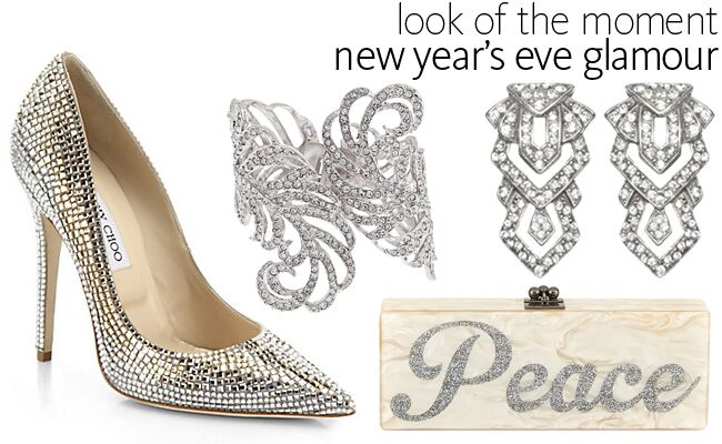 Look Of The Moment — New Year\'s Eve Glamour