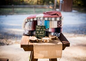 Blankets for Outdoor Ceremony