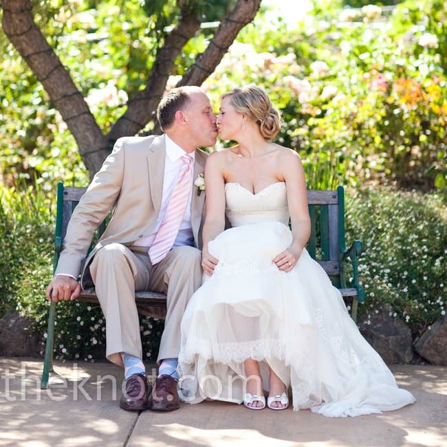 The Bride Beth Anne Larimore, 27, works in online promotional sales and marketing The Groom Dave Kuhnau, 41, an entrepreneur  The Date August 7  Beth