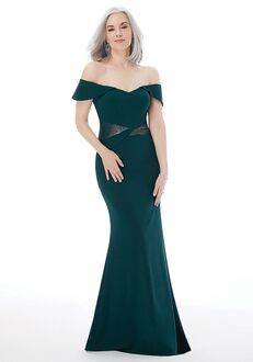 MGNY 72215 Black Mother Of The Bride Dress