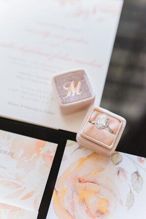 Oval-Cut Diamond Engagement Ring