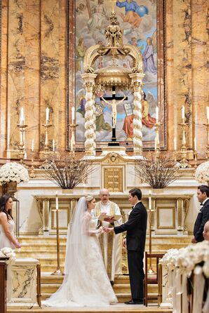 Ornate Church Ceremony