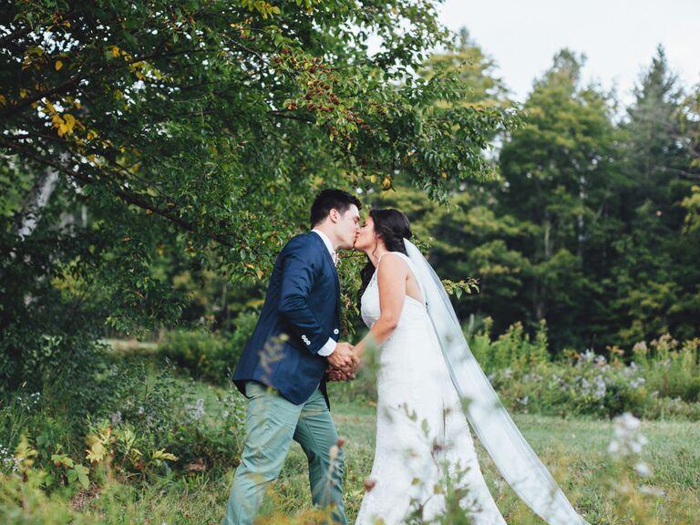 outdoor Vermont wedding