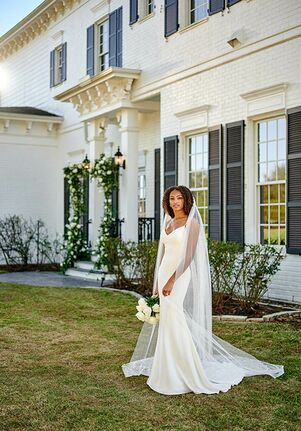 Martina Liana 1319 Sheath Wedding Dress