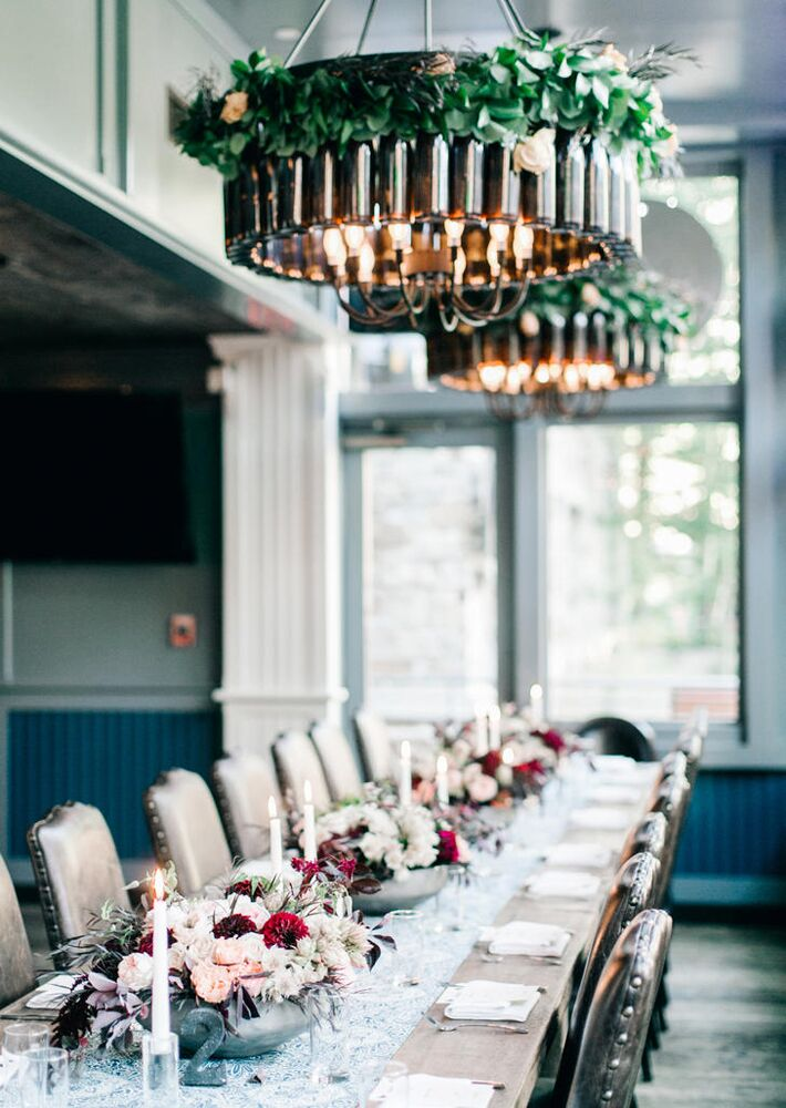 rustic wedding at The Telluride Ski Resort