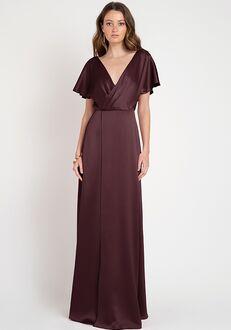 Jenny Yoo Collection (Maids) Raya V-Neck Bridesmaid Dress