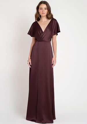 Jenny Yoo Collection (Maids) Raya V-Neck Bridesmaid Dress