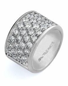TRUE KNOTS Love is Light Collection - DW238 Palladium, Platinum, White Gold Wedding Ring