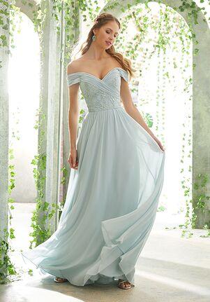 Morilee by Madeline Gardner Bridesmaids 21614 Off the Shoulder Bridesmaid Dress