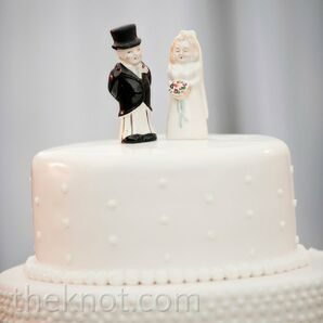Antique Cake Topper