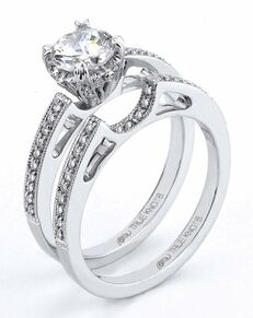 TRUE KNOTS Cut Engagement Ring