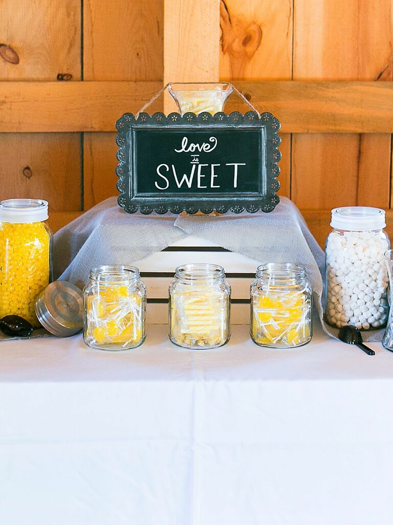 Wedding Candy Station Ideas And How To Make Your Own