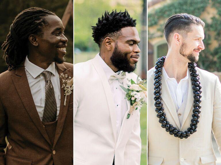 men's wedding haircut