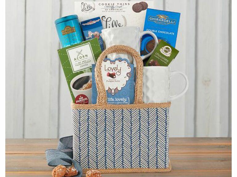 coffee and tea basket